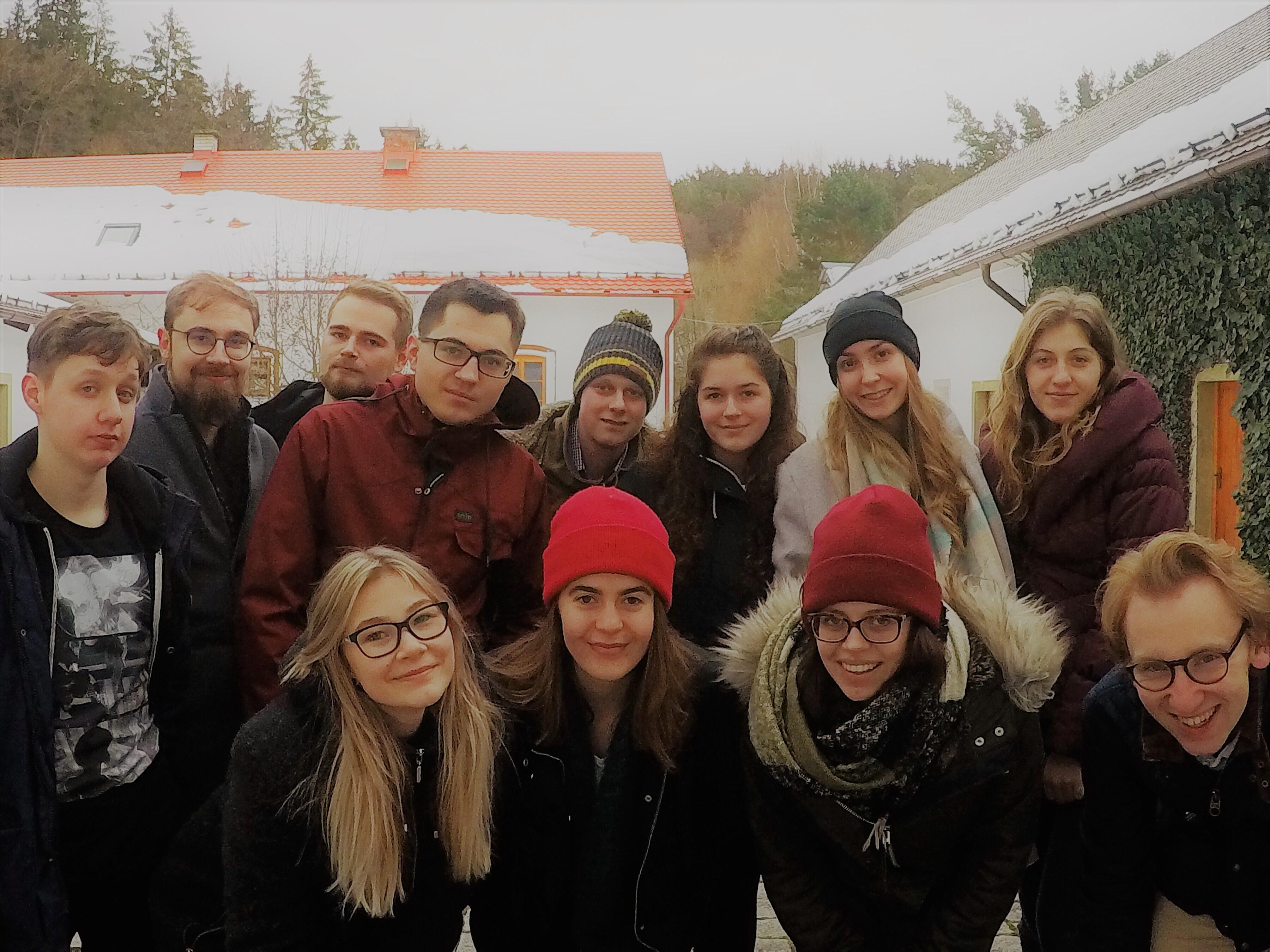 Sojka se sešla se svými německými kamarády